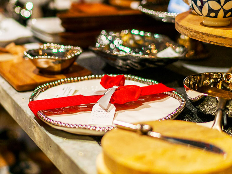 Holiday Servingware at Eclectic Home